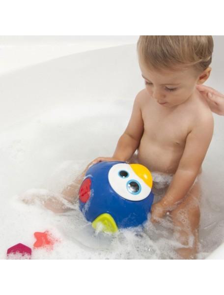 """Детская игрушка-сортер для купания 6 шт. Babymoov """"Пингвин"""""""