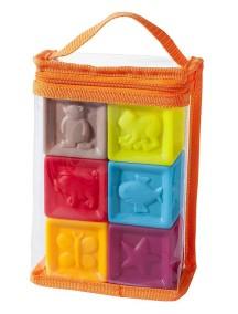 """Babymoov """"Кубики"""" Детская игрушка для купания 6 шт."""
