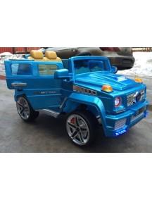 Детский электромобиль MersG A111MP RiverToys синий металлик VIP Rivertoys