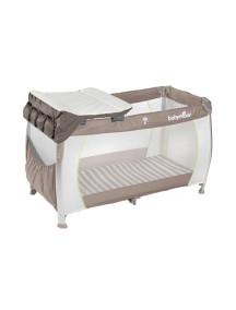 """Babymoov """"Moonlight"""" Детская переносная манеж-кровать 3 в 1, Бежево-коричневый"""