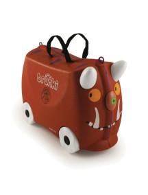 Детский чемодан на колесиках Trunki Gruffalo (Транки Граффало - Коричневый)