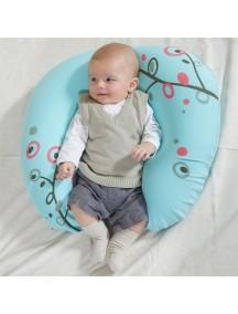 Подушка для беременных и кормящих мам «Supima» Babymoov, размер L, голубая