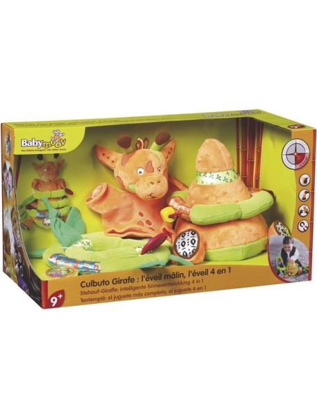 """Развивающая многофункциональная игрушка 4 в 1 Babymoov """"Жираф"""""""