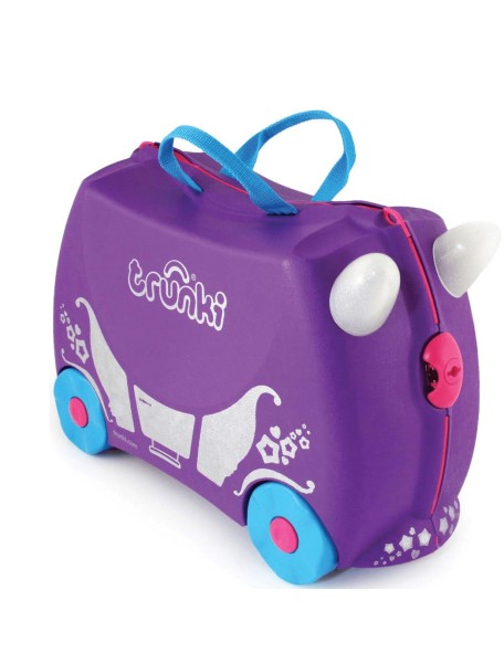 Детский чемодан на колесиках Trunki Penelope the Princess (Транки Принцесса Пенелопа - Фиолетовый)