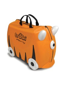 Детский чемодан на колесиках Trunki Tipu (Транки Тигр Типу - Оранжевый Транки)