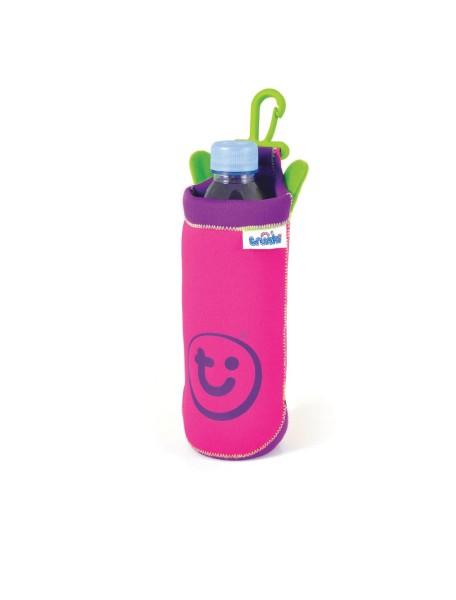 Бутылочница розовая Holster Trunki (чехол термос)