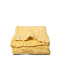 Вязаный плед 75x100 см Jollein  Chunky knit yellow (желтый)