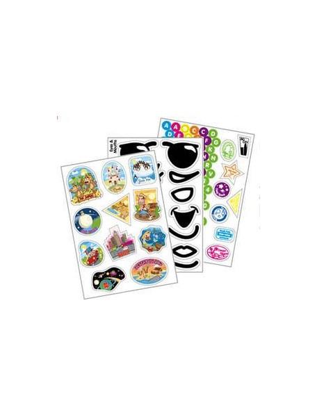Наклейки Sticker Pack Trunki 3 ЛИСТА для настоящих Trunki