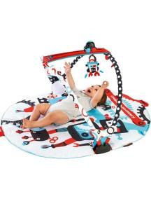 Интерактивный развивающий коврик «Весёлый тренажер-роботы» Yookidoo