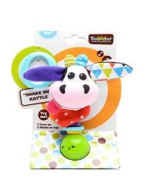 "Музыкальная игрушка-погремушка ""Коровка"" Yookidoo"