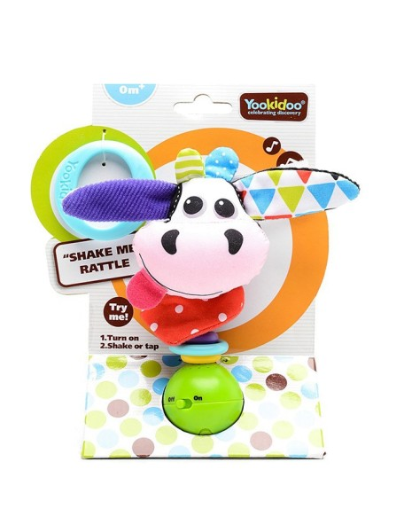 Музыкальная игрушка-погремушка Yookidoo