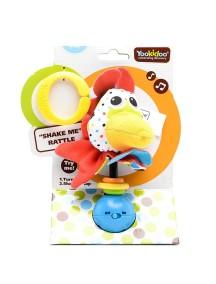 """Музыкальная игрушка-погремушка """"Петушок"""" Yookidoo"""