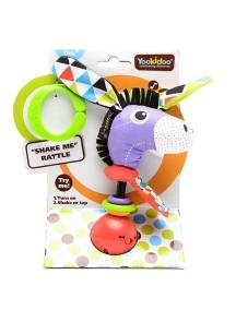 """Музыкальная игрушка-погремушка """"Ослик"""" Yookidoo"""