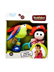 """Погремушка-прорезыватель """"Веселый пират"""" Yookidoo"""