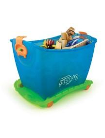 """Trunki """"Travel Toybox"""" Ящик для игрушек 4 в 1,   / Голубой"""