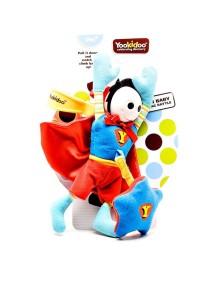 """Развивающая игрушка-подвеска """"Супер человек: Мальчик"""" Yookidoo"""