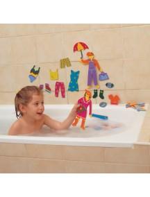 «Дизайнер» Набор для игры в ванне Edushape Splash of Fashion