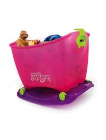 """Trunki """"Travel Toybox"""" Ящик для игрушек 4 в 1,  / Розовый"""