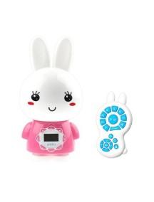 Музыкальный MP3-плеер ночник Зайчик Alilo G7 Розовый