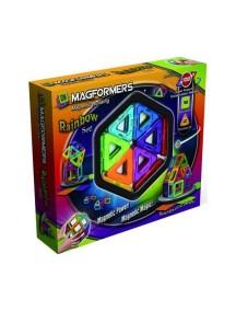 Магнитный конструктор MAGFORMERS 63076  Набор радуга