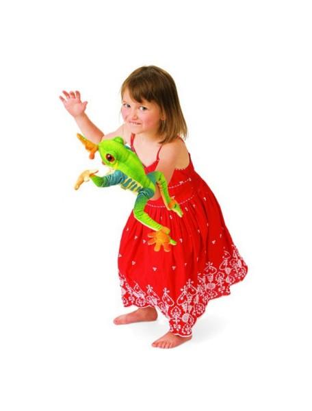 Мягкая игрушка на руку Древесная лягушка, 40см от Folkmanis