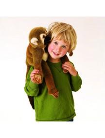 Мягкая игрушка на руку Беличья обезьяна, 23см от Folkmanis