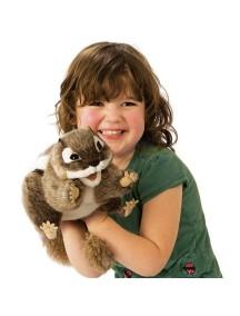 Мягкая игрушка на руку Восточный бурундук, 18см от Folkmanis