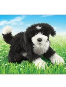 Мягкая игрушка на руку Португальская собака, 60см от Folkmanis