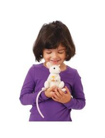 Мягкая игрушка на руку Грызущая мышка, 15см от Folkmanis