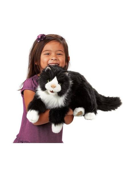 Мягкая игрушка на руку Кошка, 52см от Folkmanis