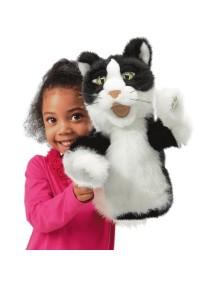 Мягкая игрушка на руку Кошка, 38см от Folkmanis