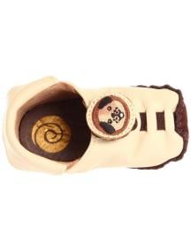 Детская обувь Shupeas Original. Натуральная кожа. Цвет - Кремовый. Рисунок - Щенок