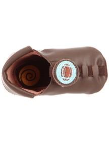 Детская обувь Shupeas. Натуральная кожа. Цвет - Коричневый. Рисунок - Американский футбол