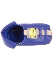 Детская обувь Shupeas Too. Искусственная PU-кожа. Цвет - Синий. Рисунок - Машинка