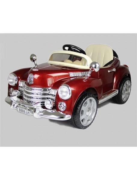 Детский электромобиль Bentley E999КХ (бордо/хром)