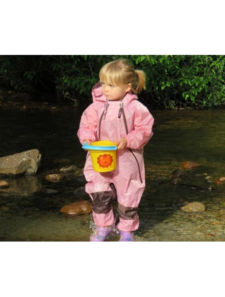 Детский непромокаемый комбинезон Мадди-Бадди от Tuffo, Канада (розовый)