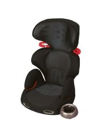 Детское автокресло COMBI Buon Junior Air «Mesh Black» от 3 до 11 лет (Чёрное)