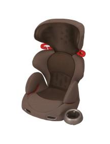 Детское автокресло COMBI Buon Junior Air «Mesh Brown» от 3 до 11 лет (Коричневое)