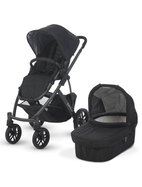 Детская коляска UPPAbaby VISTA 2в1 Черная