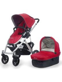 Детская коляска UPPAbaby VISTA 2014 (Аппабейби Виста) 2в1 Красная