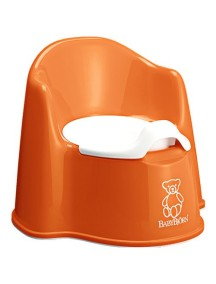 BabyBjorn Детский горшок-кресло, оранжевый