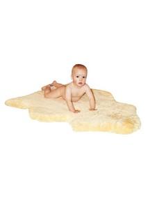 Шкурка-пеленка натуральная размер 95-100 см, овчина стриженный мех 30 мм, немецкого производителя Heitmann Felle