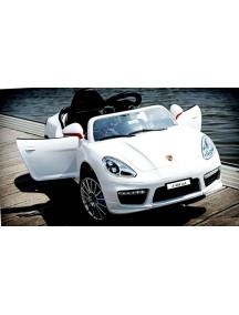 Детский электромобиль Porsche Panamera А 444 АА с дистанционным управлением, белый
