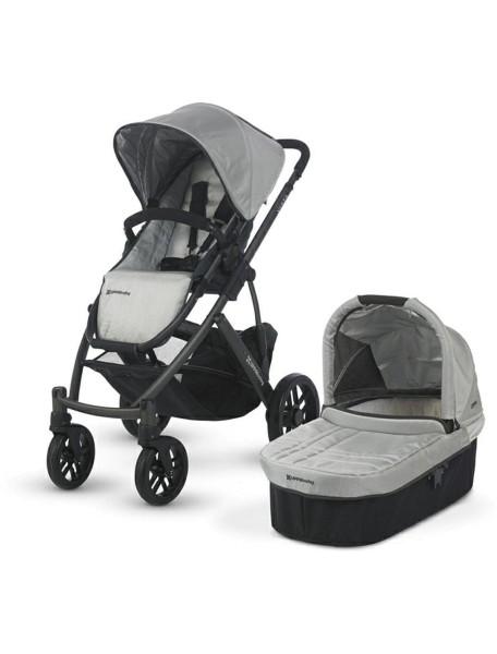 Детская коляска UPPAbaby VISTA 2в1 Серебристая