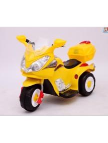 Детский мотоцикл МОТО HJ 9777 (желтый) Rivertoys