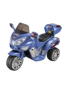 Детский мотоцикл МОТО HJ 9777 (синий) Rivertoys