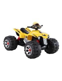 Детский электроквадроцикл BEACH CAR JS 318 (желтый) Rivertoys