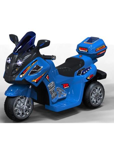 Детский мотоцикл МОТО 1858 (синий,  желтый,  белый)