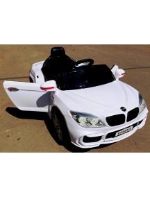 Детский электромобиль BMW E666KX белый с дистанционным управлением