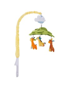 Музыкальная карусель на кроватку Skip Hop Crib Mobile - Giraffe Safari